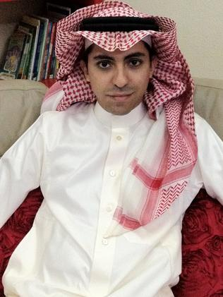 Blogger Raif Badawi has been sentenced to 1000 lashings. Picture: AFP