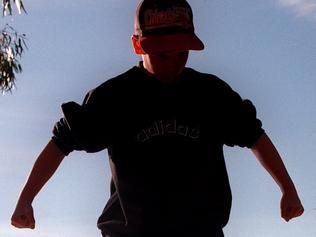 UNDATED : Generic photo of schoolyard bullies / Situation / Children / Bully boy bullying silhouette