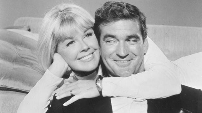 Ladies' man: Rod Taylor with Doris Day in March 1967.