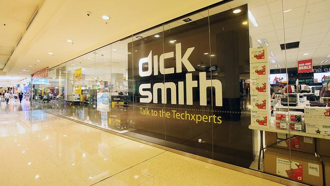 The final Dick Smith stores close this month. Picture: Marc Robertson