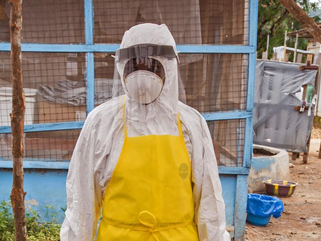 Taking precautions ... Over the decades Ebola cases have been confirmed in ten African countries, including Congo where the disease was first reported in 1976. Picture: Michael Duff