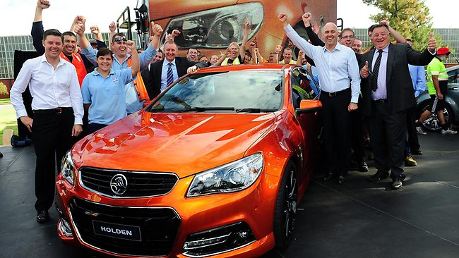 Holden VF SS Commodore