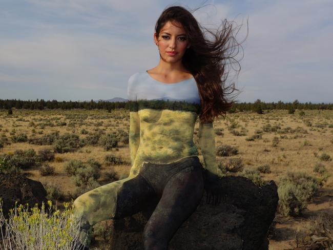 naked body painting natalie fletcher s 100 bodies across america
