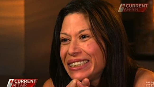 Tonya Lee ... one of Rolf Harris's victims who gave testimony against him.