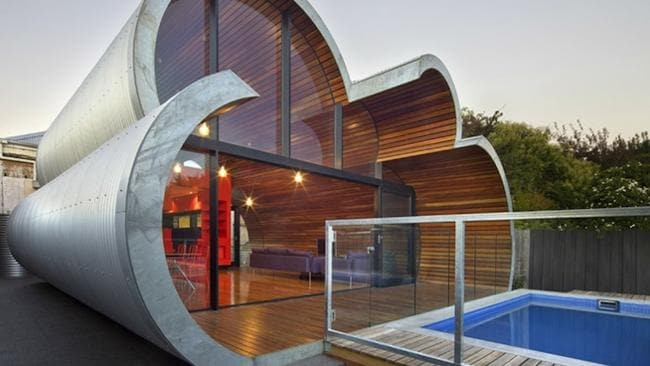 The Cloud House exterior. Picture: John Gollings.