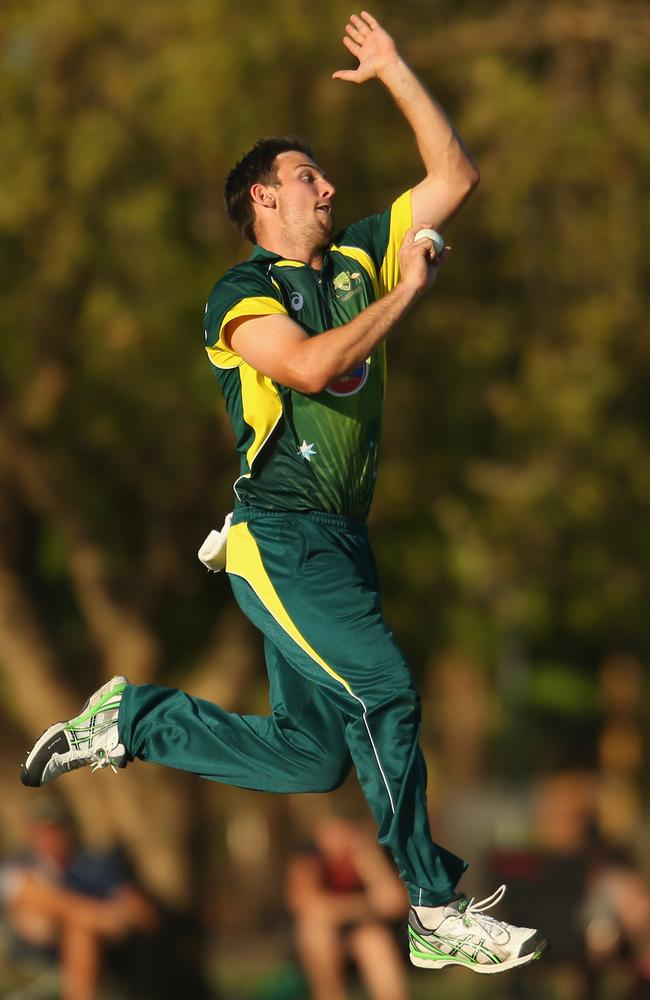 Mitch Marsh has been bowling express pace recently.