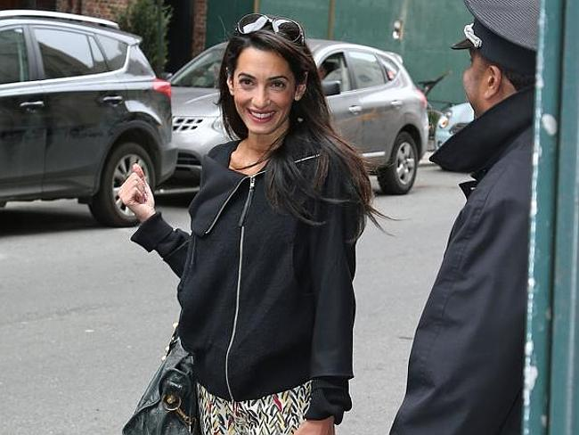Smart, talented ... Amal Alamuddin is a wonder woman.