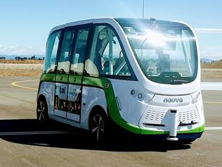 HMI Technologies driverless automomous bus