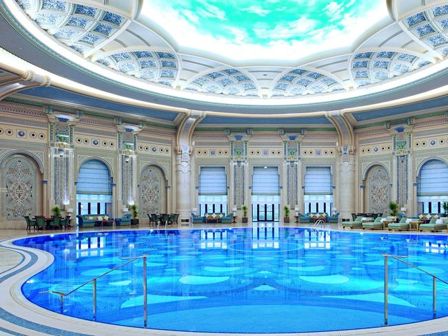 The Ritz-Carlton hotel in Riyadh where nearly 50 Saudi princes and dignitaries are holed up following their arrest.