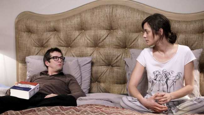 Guillaume Canet and Marion Cotillard in 'Rock'n'Roll'. Photo: Supplied