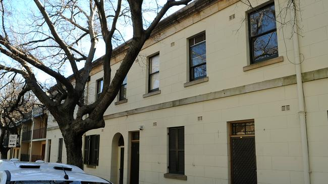 The heritage listed public housing at Millers Point will be listed for sale tomorrow.