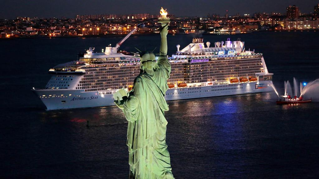 Royal Caribbean Cruise Ship Anthem Of The Seas  Herald Sun