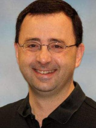 Larry Nassar was the team doctor for the US women's gymnastics. Picture: Supplied