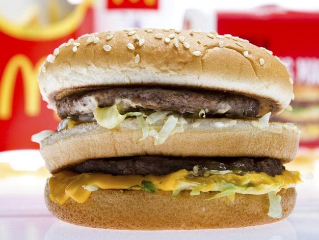 The real McDonalds Big Mac- spot the difference?
