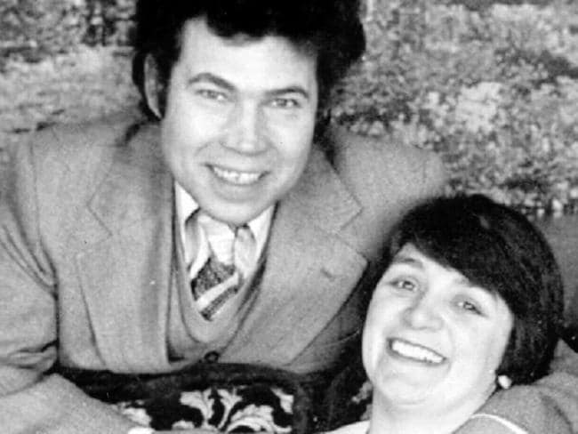 British serial murderers Fred and Rosemary West.