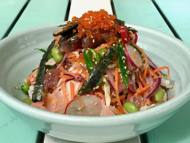 The tuna poke. Picture: Jenifer Jagielski