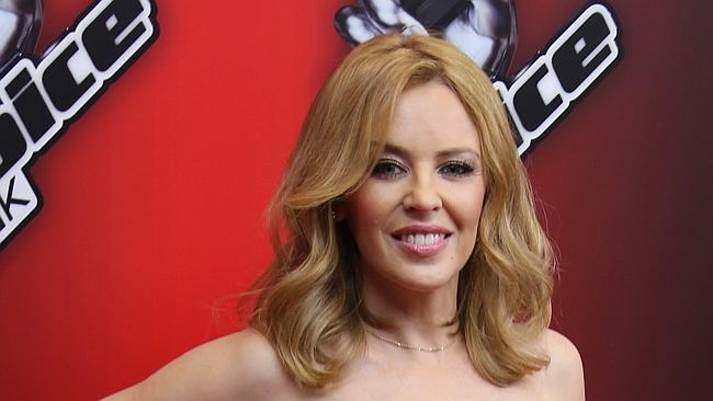 Kylie Minogue says she she approves of Samantha Jade playing her in Channel 7's INXS telemovie.