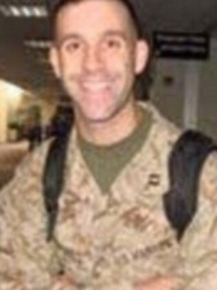 Grave fears ... Major Shawn Campbell is one of the missing Marines in Hawaii. Picture: Facebook