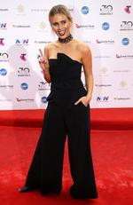 Tigerlily arrives on the red carpet for the 30th Annual ARIA Awards 2016 at The Star on November 23, 2016 in Sydney, Australia. Picture: Jonathan Ng