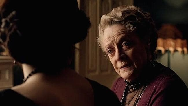 Downton Abbey was the only non-Australian program on the list. Picture: Supplied