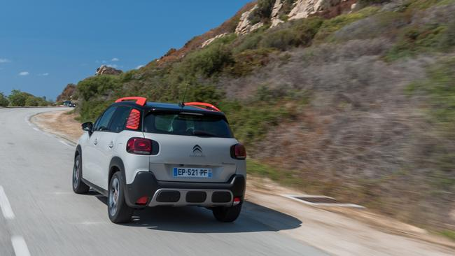 The C3 Aircross's three-cylinder turbo delivers oomph when on the move. Pic: Supplied.
