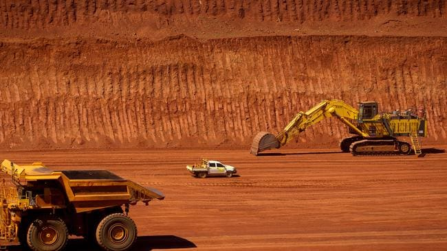 Machinery at a Rio Tinto mine in Pilbara, Australia. Photographer: Ian Waldie/Bloomberg