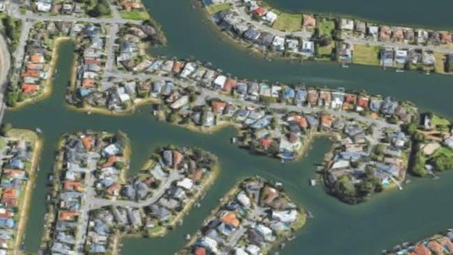 Broadbeach Waters is a good place to invest in a holiday rental. Photo: Google Maps. Source: Supplied