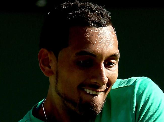 Kyrgios reveals his grand ambition