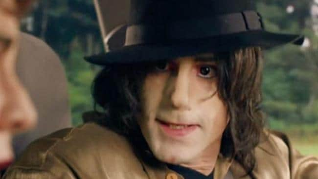 Fiennes copped backlash over his casting as Michael Jackson in the series.