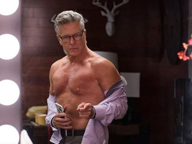 Donny Deutsch played an exaggerated version of himself on the TV show Donny. Picture: Supplied