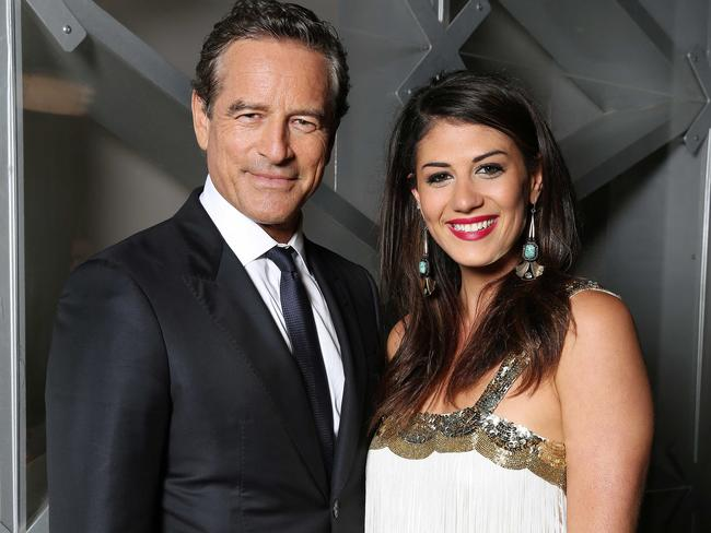 Mark Bouris with Celebrity Apprentice winner Stephanie Rice.