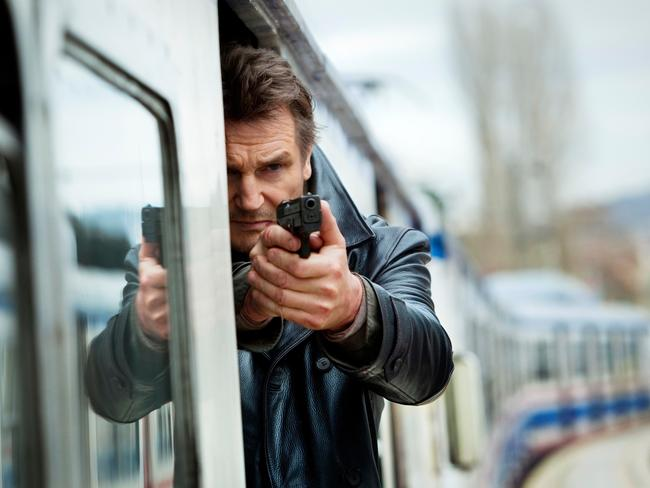 It's fiction! ... Liam Neeson is shocked the movie Taken impacted some parents' travel decisions.