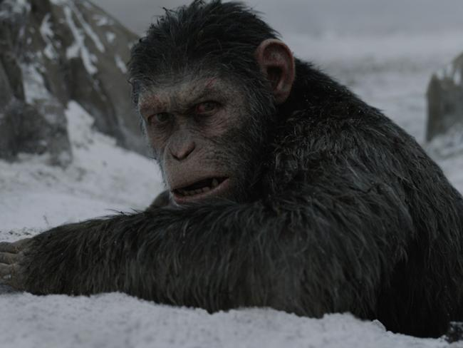 Andy Serkis returns for a third time as Caesar the chimpanzee in War For the Planet of the Apes <i></i>and drew on inspiration from former US President Barack Obama this time around.