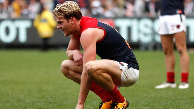Jack Watts has finished 21st in Melbourne's best and fairest. Picture: Getty