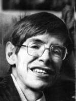 Campbridge University Professor Stephen Hawking, 19 December 1989. Picture: Supplied