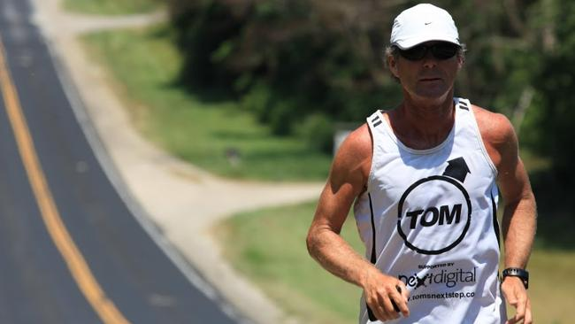 """Running marathon distances isn't that hard, """"once you're in the groove"""". Picture: Carmel Denniss"""