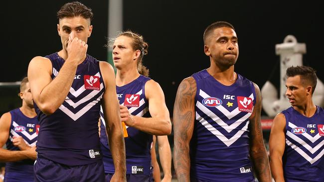 Fremantle tumbled down the ladder last year.