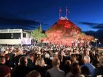 Dawn service at Elephant Rock in Currumbin. Picture: Dave Hunt/AAP