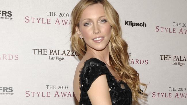 Katie Cassidy shared her father's final words on Twitter. Picture: AP.