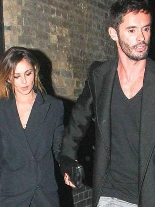Split ... Cheryl Fernandez-Versini with estranged husband Jean-Bernard. Picture: Supplied