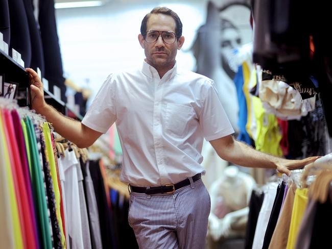 Ousted American Apparel founder Dov Charney.