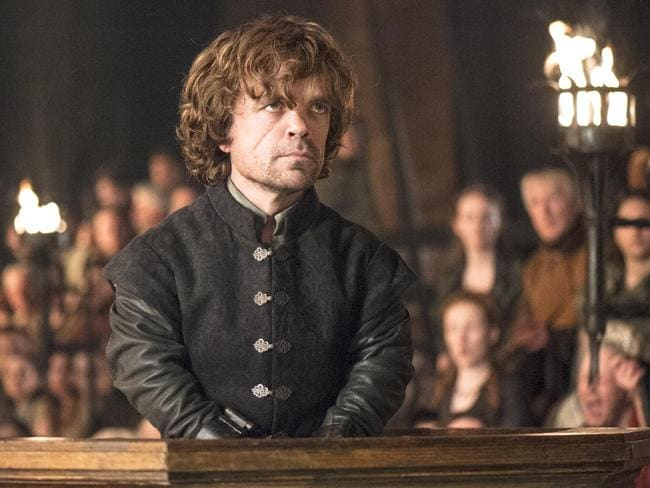 Peter Dinklage in  <i>Game of Thrones</i>. Picture: AP Photo/HBO, Helen Sloan