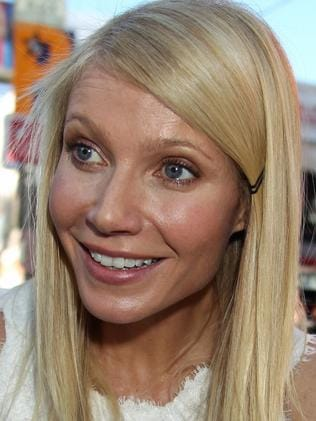 Paltrow's face looked stiff in 2010. Picture: Splash News