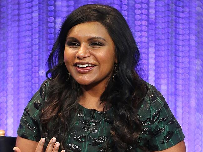 "Mindy Kaling produces and stars in her own show, ""The Mindy Project""."