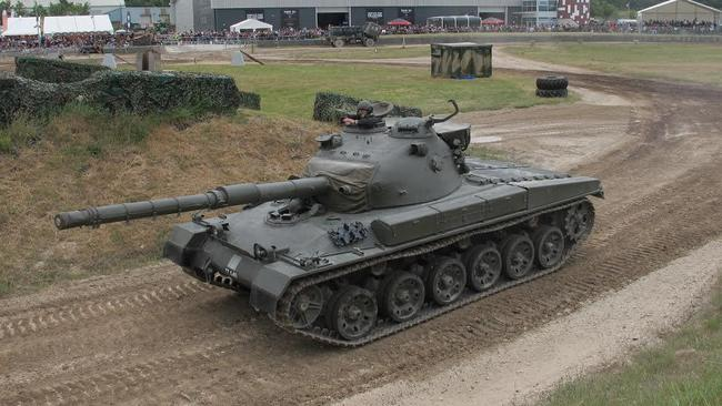 Tankfest is the largest event of its kind in the world.