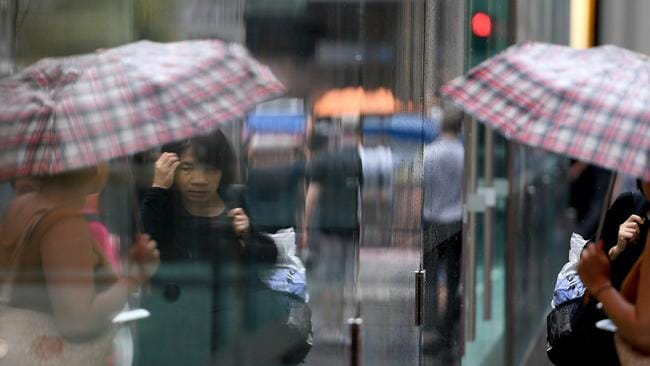 Sydney will be wet over the weekend. Picture: Dan Himbrechts