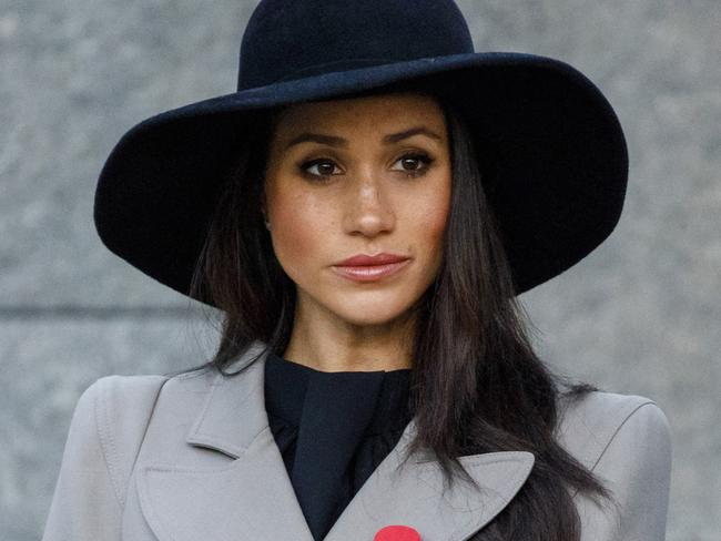 Meghan Markle has been present at a number of official events in the lead up to her May wedding. Picture: Tolga Akmen/Pool Photo via AP