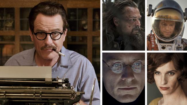 The 2016 Best Actor nominees.