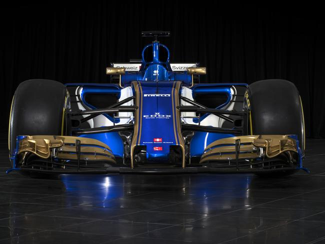 New F1 beast officially unveiled