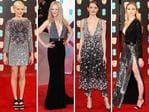 BAFTA 2017 .. Michelle Williams, Nicole Kidman, Emma Stone and Sophie Turner. Picture: Getty